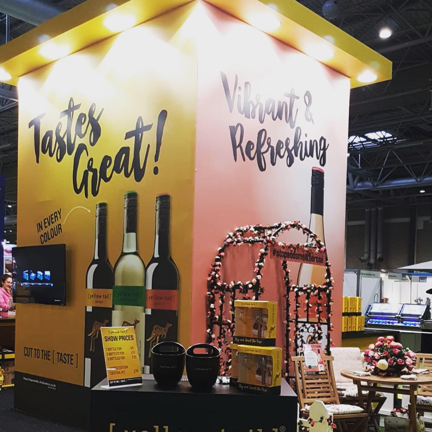Yellow Tail – The Good Food Show 2019